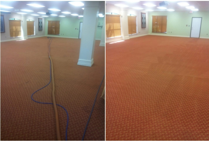 Commercial carpets cleaned Tulsa